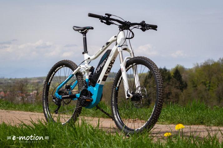 Das Haibike SDURO Full Life 6.0 ist ein e-Bike speziell für Frauen