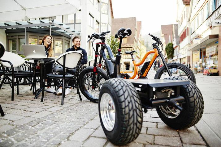 XCYC Lasten/Cargo 25km/h e-Bike Pick-Up Allaround 2018