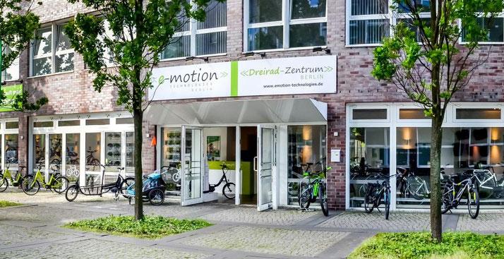 Die e-motion e-Bike Welt in Berlin-Mitte