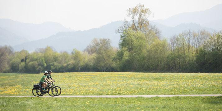 In Bremen können Sie auch Trekking e-Bikes für eine geplante Tour mieten.