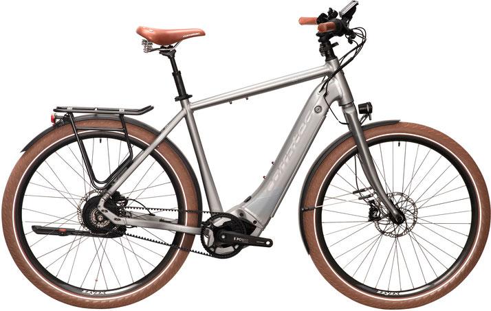 Corratec E-Power C29 CX6 Belt Trekking e-Bike / Speed Pedelec 2020 - Diamantrahmen