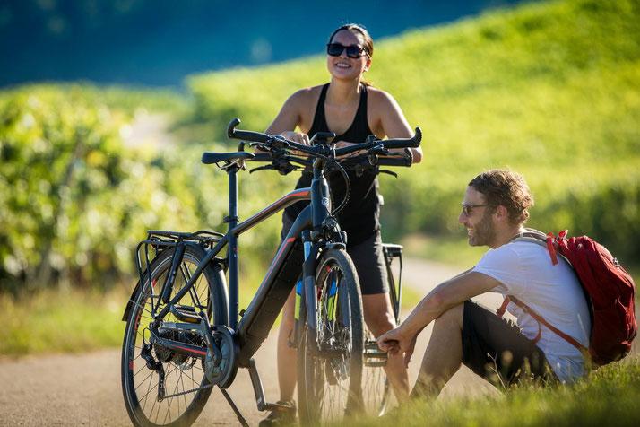 Hercules e-Bikes und Pedelecs in der e-motion e-Bike Welt in Münster