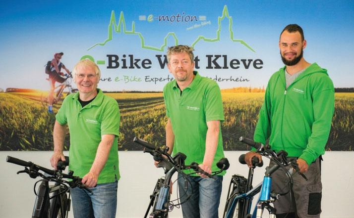Unsere Experten in Kleve können Sie bei allem rund um's Lasten e-Bike beraten