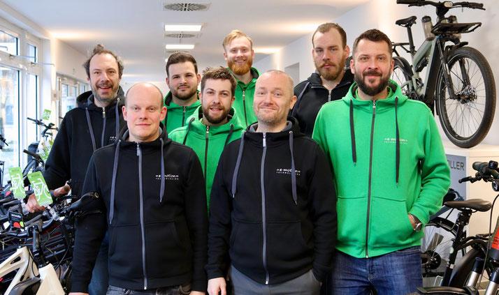 Unsere Experten in Berlin-Mitte können Sie bei allem rund um's Lasten e-Bike beraten
