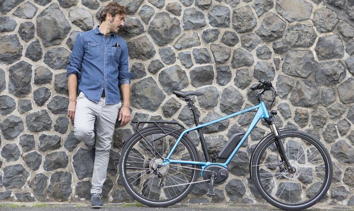 e-Bike Ergonomie Rahmenformen