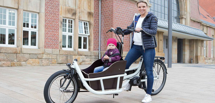 Pfau Tec Carrier Lastenfahrrad / Cargo e-Bike 2019