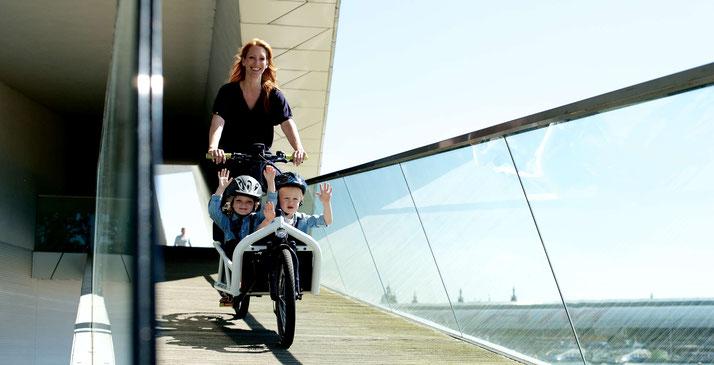 Lasten e-Bikes in Hamburg