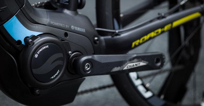 Der SyncDrive Pro wurde von Giant speziell für den Einsatz in e-Mountainbikes abgestimmt