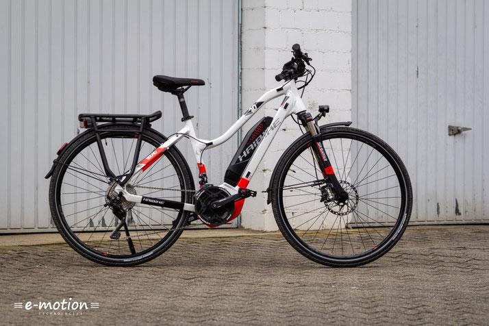Das Haibike SDURO Trekking 6.0 ist ein echtes Allzweck e-Bike