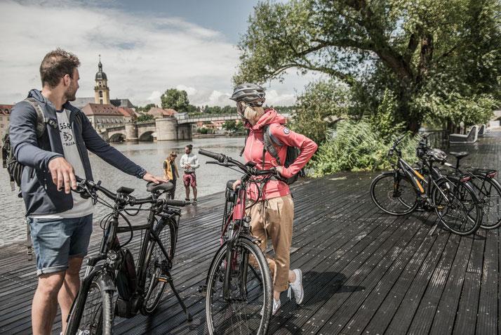 Trekking / Touren e-Bikes 2017