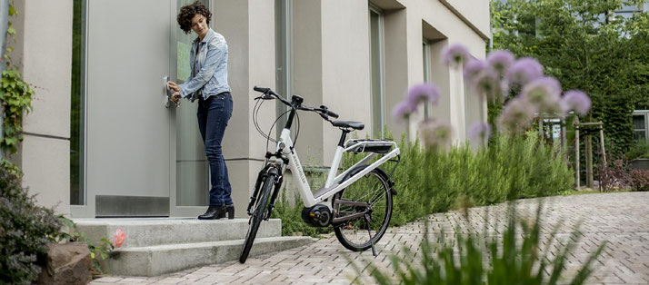 Riese & Müller e-Bikes und Pedelecs in der e-motion e-Bike Welt in Kleve