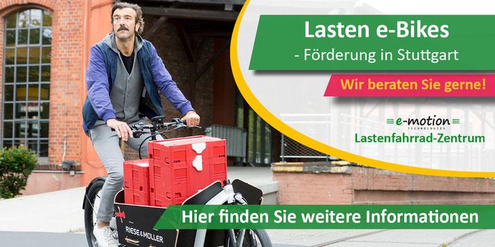 Lastenrad-Förderung in Stuttgart