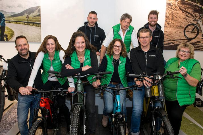 Riese & Müller e-Bikes in der e-motion e-Bike Welt Fuchstal