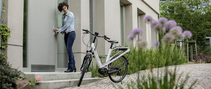Riese und Müller e-Bikes in der e-motion e-Bike Welt in Düsseldorf probefahren und kaufen