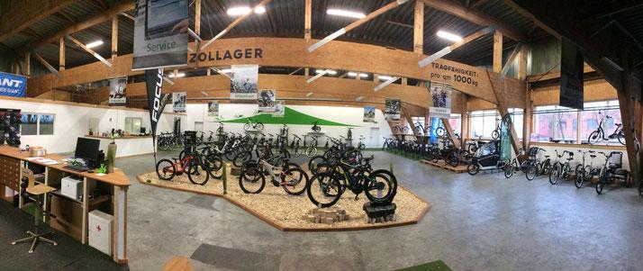 großes Pedelec Angebot in der e-motion e-Bike Welt in Ahrensburg