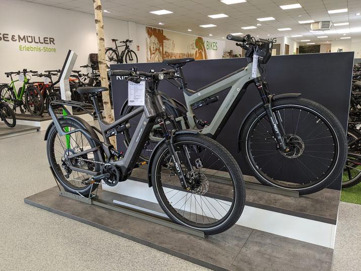 Speed-Pedelecs probefahren und kaufen in der e-motion e-Bike Welt Bremen