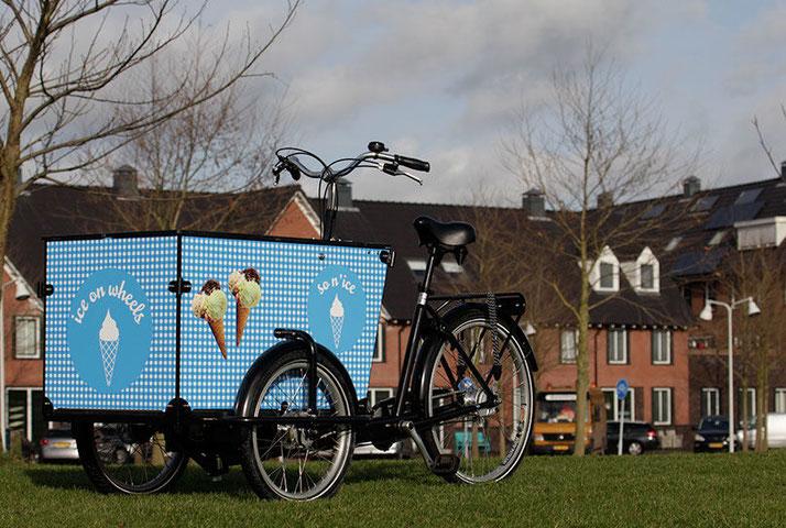 Babboe Transporter-E Lasten e-Bike, Lastenfahrrad mit Elektromotor, e-Cargobike 2020