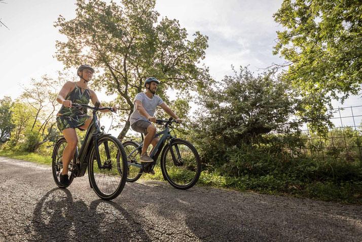 e-Bike fahren für die Umwelt