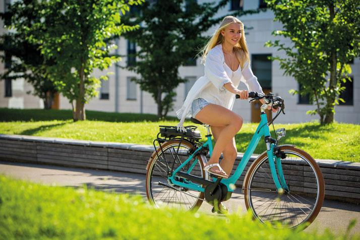 Finden Sie ihr eigenes City e-Bike im Shop in Oberhausen