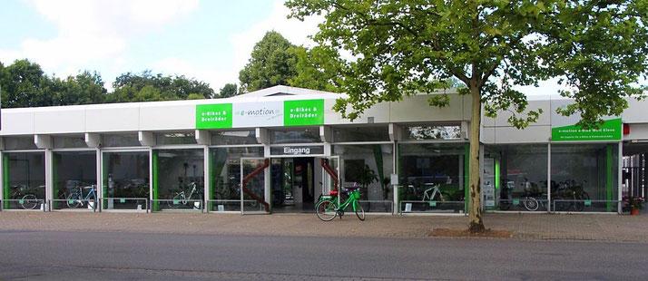 e-motion e-Bike Welt Kleve - Pedelecs, Elektrofahrräder und Speed Pedelecs von Ihrem e-Bike Experten in Kleve