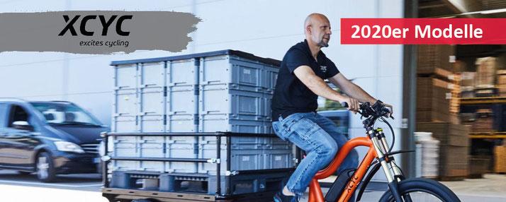 Lastenfahrräder und e-Cargobikes von XCYC vom Experten bei Ihrem e-motion e-Bike Experten in Ihrer Nähe