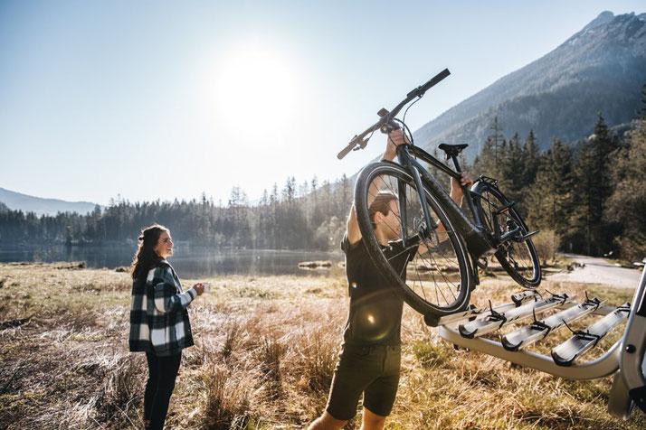 Urlaub mit e-Bike
