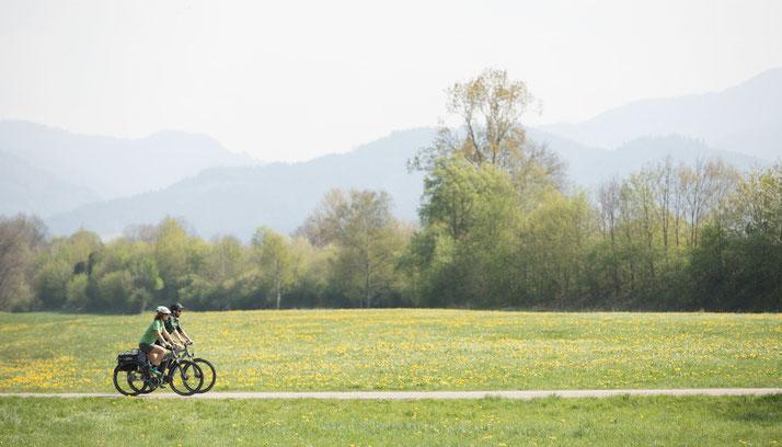 In Berlin-Mitte können Sie auch Trekking e-Bikes für eine geplante Tour mieten.