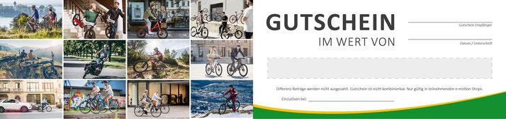 e-Bike Gutscheine Gießen