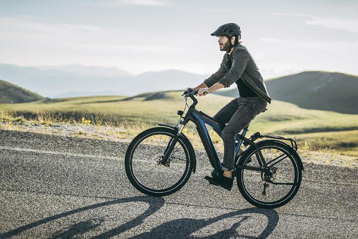 In Worms können Sie auch Trekking e-Bikes für eine geplante Tour mieten.