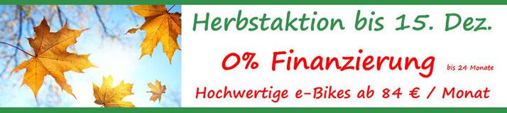 0% Finanzierung - günstige e-Bikes Bad Zwischenahn