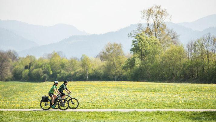 In Hamm können Sie auch Trekking e-Bikes für eine geplante Tour mieten.