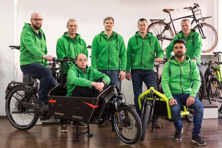 e-motion e-Bike Premium-Shop Hannover Team