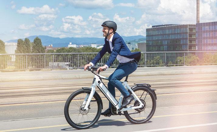 Stromer e-Bikes und Pedelecs in der e-motion e-Bike Welt in Frankfurt