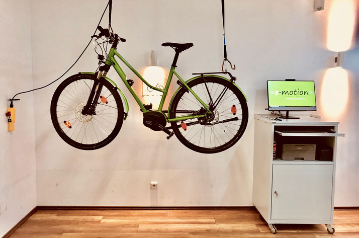 e-Bike Service in der e-motion e-Bike Welt Hannover
