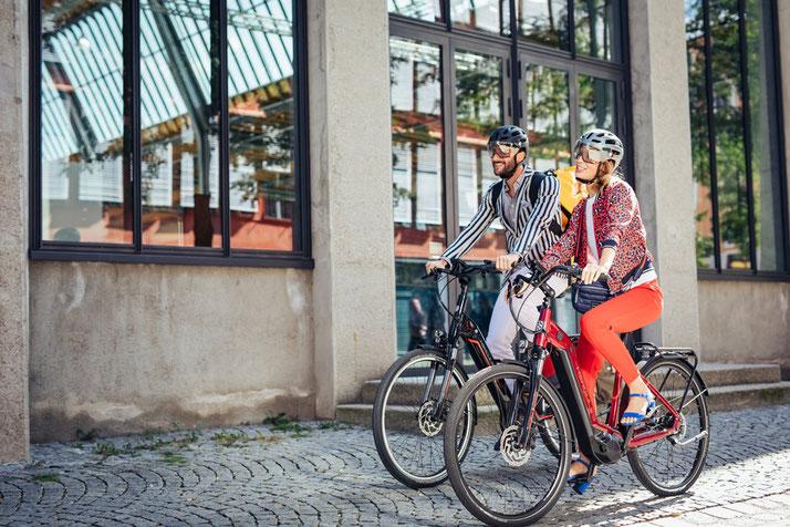 Hercules e-Bikes und Pedelecs in der e-motion e-Bike Welt in Wiesbaden
