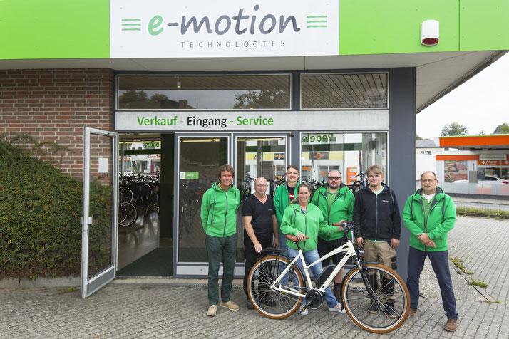 Corratec e-Bikes in der e-motion e-Bike Welt Schleswig kaufen und Probefahren