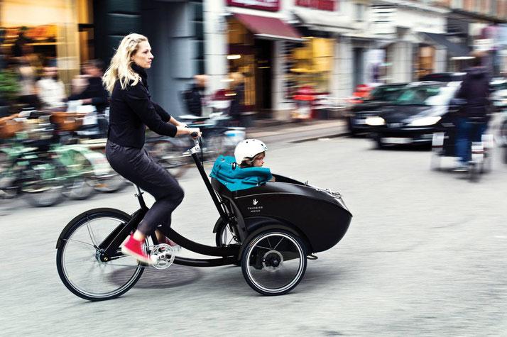 Triobike e-Bikes und Pedelecs in der e-motion e-Bike Welt in Hamburg