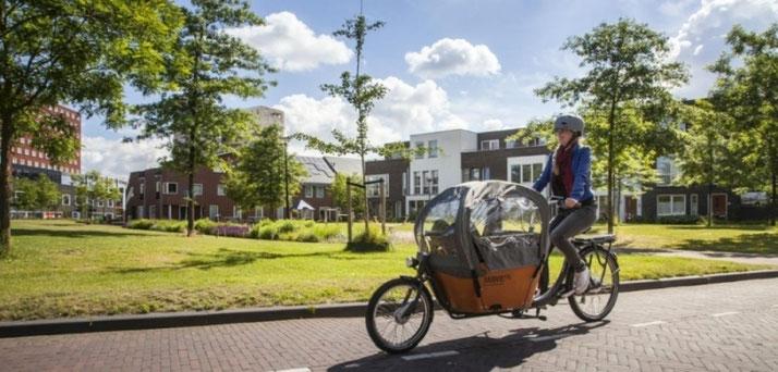 Babboe e-Bikes und Pedelecs in der e-motion e-Bike Welt in Berlin-Mitte