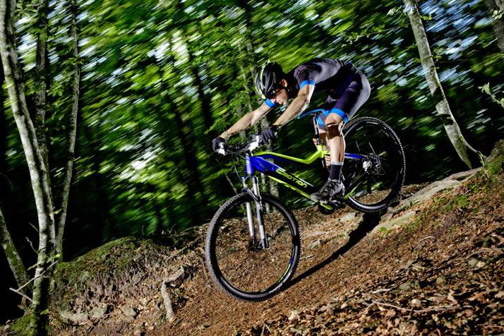 Im Shop in Gießen können Sie alle unterschiedlichen Ausführungen von e-Mountainbikes kennenlernen.
