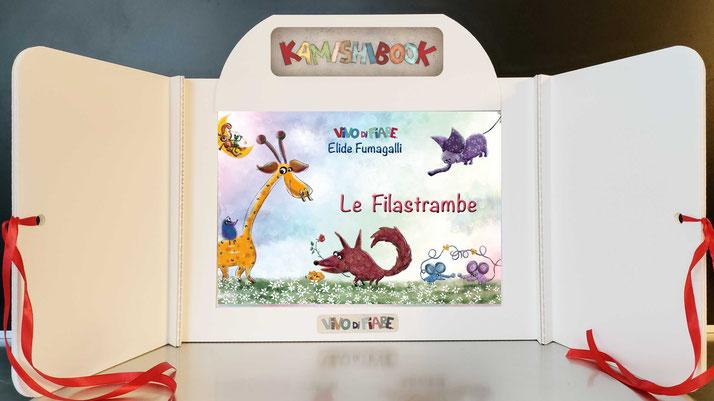 Kamishibai con il libro le filastrambe diversità animali favole fiabe filastrocche racconti valigia vendita teatrino burattini  ombre audiolibro cos'è