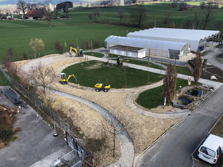 Berufsinsel Dynamo-Garten
