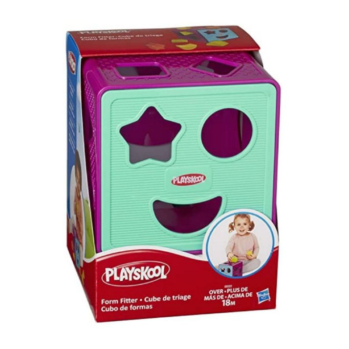 Cubo de formas Playskool
