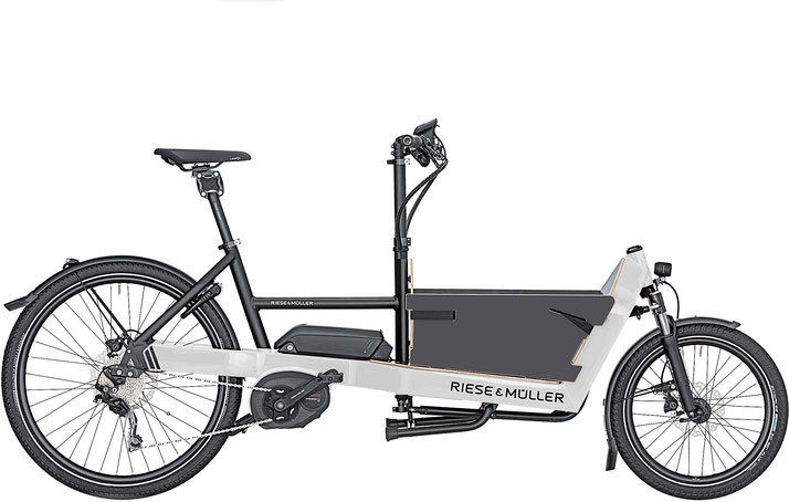 Riese & Müller Packster 40 touring / touring HS 2020 Box light grey