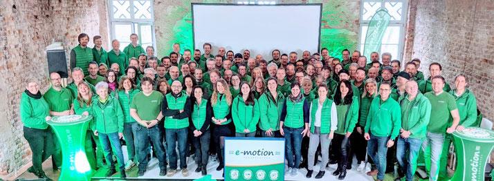 Die e-motion Gruppe - wir lieben e-Bikes