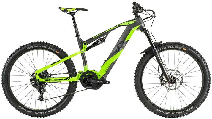 R Raymon E-Seven TrailRay 10.0 - e-Mountainbikes - 2019