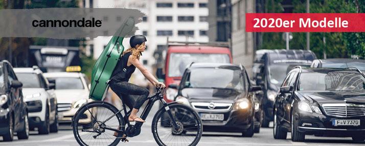 Cannondale e-Mountainbikes und Trekking e-Bikes 2020 bei Ihrem e-motion e-Bike Experten Probefahren, Beratung und kaufen