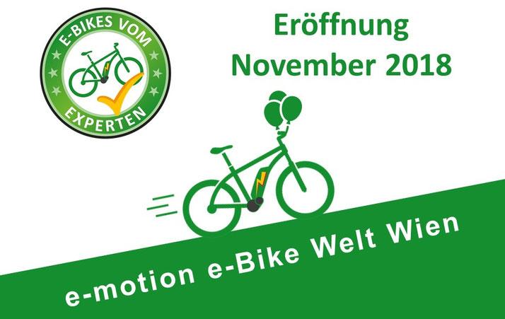 Pedelecs, Speed-Pedelecs und Elektrofahrräder in der e-motion e-Bike Welt Wien