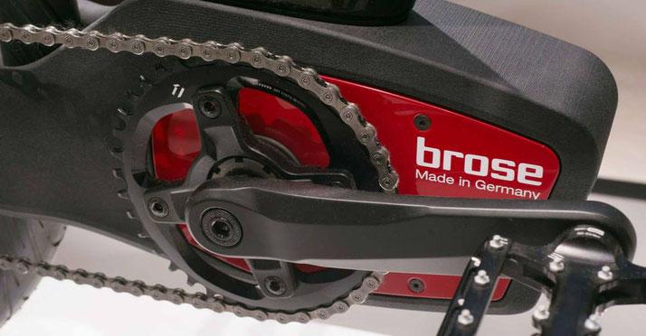 Der Brose Drive TF Speed-Pedelec Antrieb