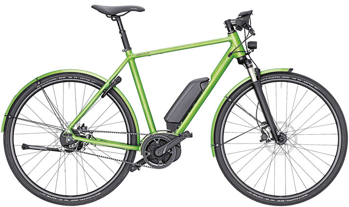 Riese & Müller Roadster Urban 2019 - electric green