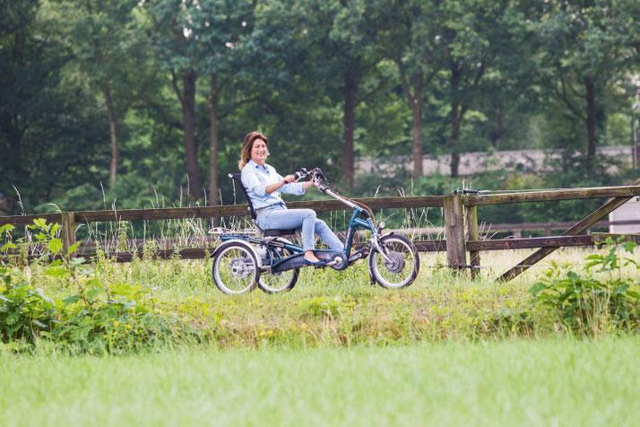 Van Raam Dreiräder und Elektro-Dreiräder für Erwachsene, Senioren und Menschen mit Behinderungen in Österreich